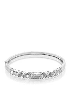 Belk & Co. Diamond Bangle in Sterling Silver