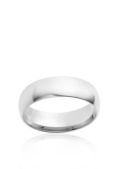 Belk & Co. 6mm Sterling Silver Comfort Feel Band