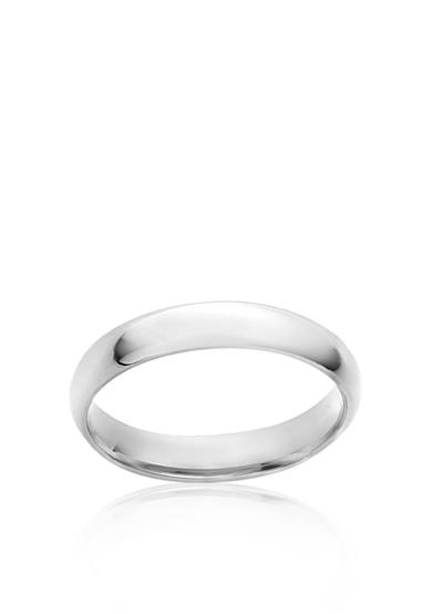 Belk & Co. 10k 4-mm. Plain Wedding Ring
