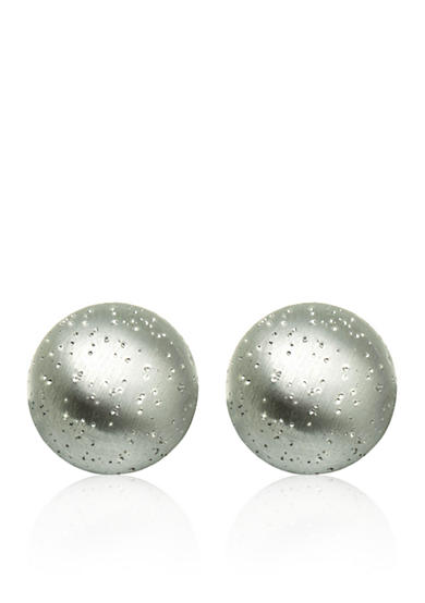 Belk & Co. Sterling Silver Stardust Ball Stud Earrings