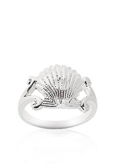 Belk & Co. Sterling Silver Sea Shell Ring