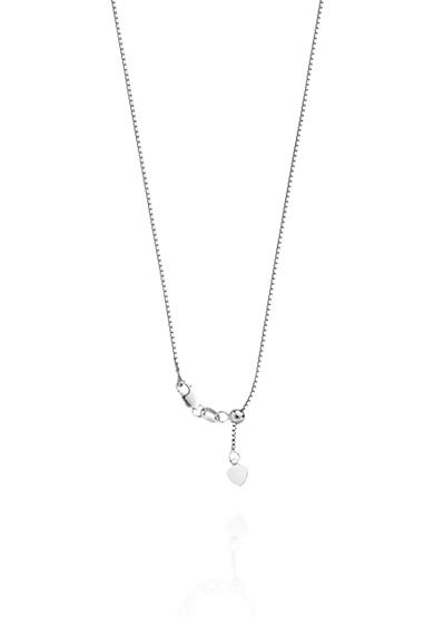 Belk & Co. 14k White Gold Adjustable Box Chain