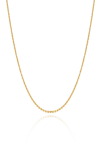 Belk & Co. 14k Yellow Gold Cable Chain