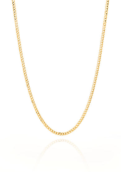 Belk & Co. 14k Yellow Gold Curb Link Necklace