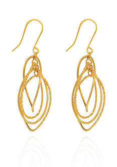 Belk & Co. 14k Yellow Gold Earrings