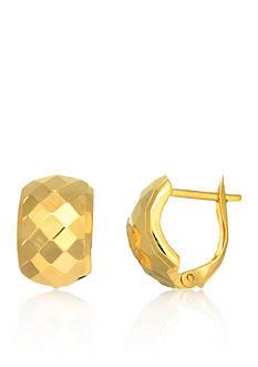 Belk & Co. 14k Yellow Gold Huggie Earrings