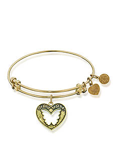 Angelica Grandmother Butterfly Expandable Bangle