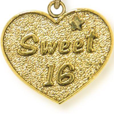 Personalized Celebration Bangles: Yellow Gold-Tone Angelica Sweet 16 Expandable Bangle
