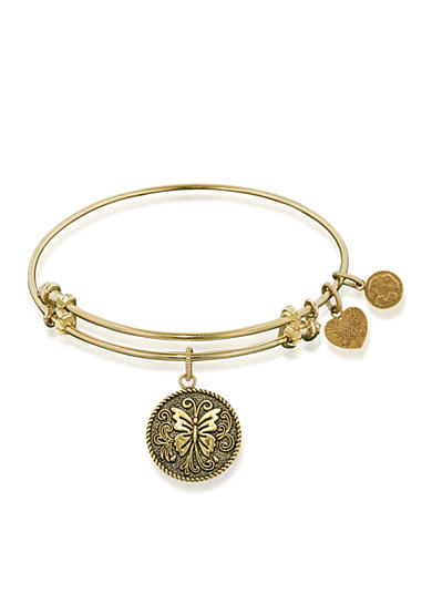 Angelica Butterfly Expandable Bangle