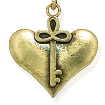 Personalized Jewelry: Symbols: Yellow Gold-Tone Angelica Cherish Expandable Bangle