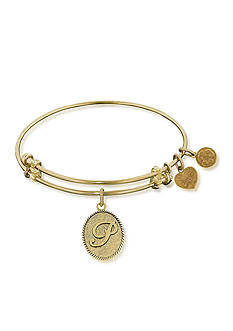 Angelica P Initial Expandable Bangle