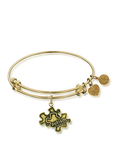 Angelica Autism Awareness Expandable Bangle