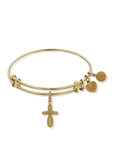 Angelica Cross and Heart Expandable Bangle