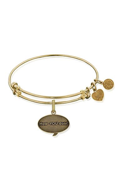 Angelica Friends How You Doin Expandable Bangle
