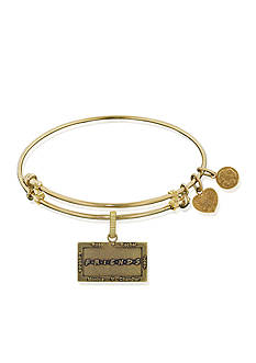 Angelica Friends Logo Expandable Bangle