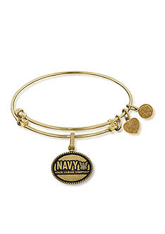 Angelica Navy Honor, Courage, Commitment Expandable Bangle
