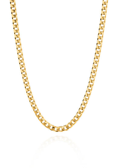 Belk & Co. 14k Yellow Gold Miami Cuban Link Necklace