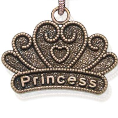 Personalized Jewelry: Symbols: Rose Gold-Tone Angelica Princess Expandable Bangle
