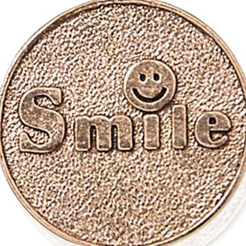 Personalized Jewelry: Symbols: Rose Gold-Tone Angelica Smile Expandable Bangle