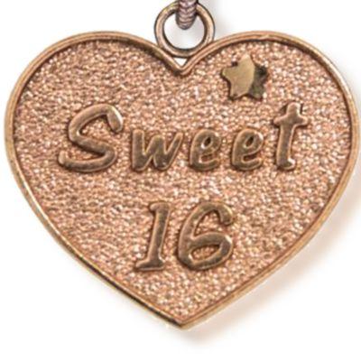 Personalized Celebration Bangles: Rose Gold-Tone Angelica Sweet 16 Expandable Bangle