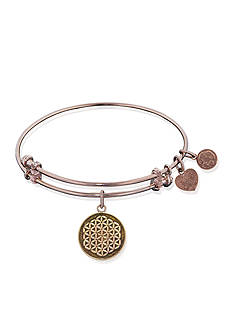 Angelica Flower of Life Expandable Bangle