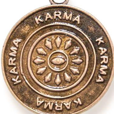 Personalized Jewelry: Symbols: Rose Gold-Tone Angelica Karma Expandable Bangle