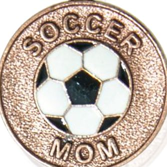 Personalized Jewelry: Sports & Hobbies: Rose Gold-Tone Angelica Soccer Mom Expandable Bangle