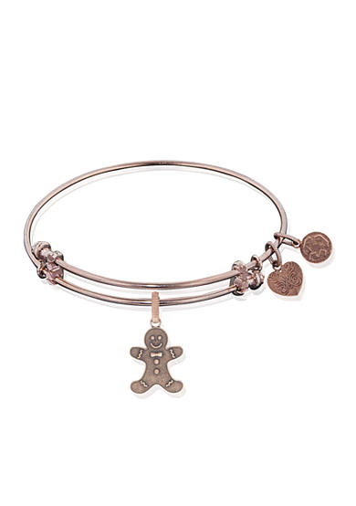 Angelica Gingerbread Man Expandable Bangle