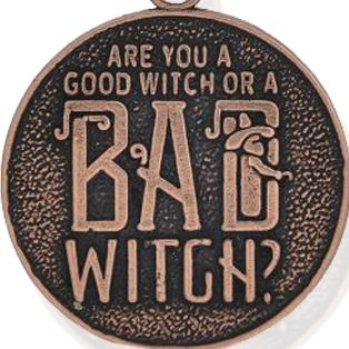 Personalized Jewelry: Entertainment: Rose Gold-Tone Angelica The Wizard of Oz™ Good Witch or Bad Witch Expandable Bangle