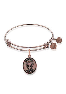 Angelica Air Force Daughter Aim High Expandable Bangle