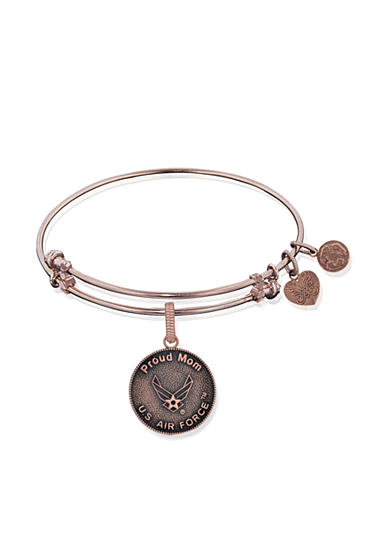 Angelica Air Force Proud Mom Expandable Bangle