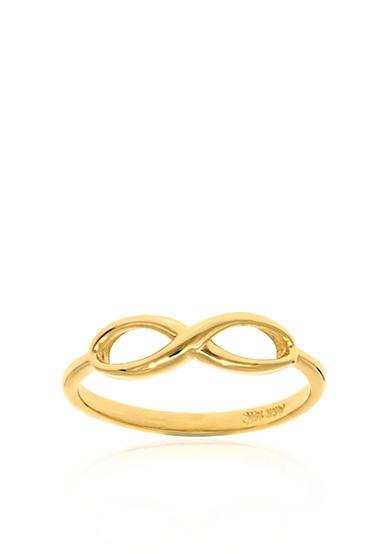 Belk & Co. 14k Yellow Gold Infinity Ring