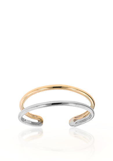 Belk co 14k two tone gold toe ring belk for Belk fine jewelry rings