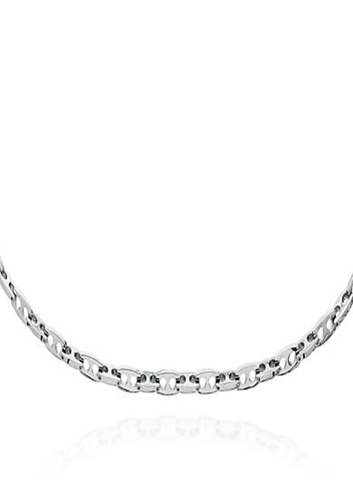 Belk & Co. Stainless Steel Mariner Link Necklace