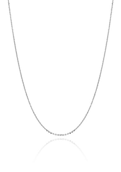 Belk & Co. 14k White Gold Cable Chain