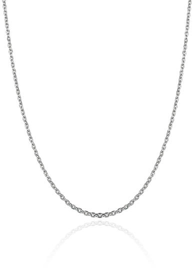 Belk & Co. 14k White Gold 16-in. Cable Chain