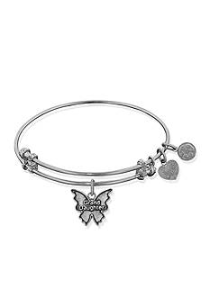 Angelica Granddaughter Butterfly Expandable Bangle