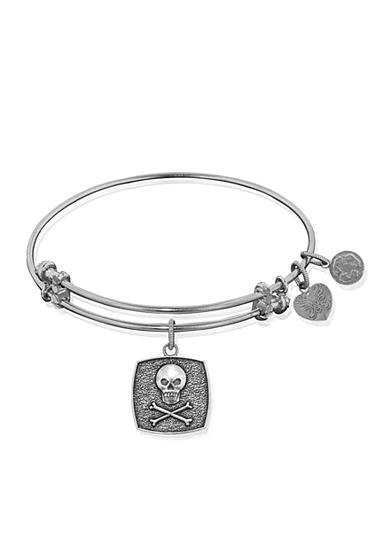 Angelica Skull and Crossbones Expandable Bangle