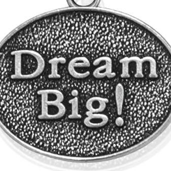 Personalized Jewelry: Symbols: Silver-Tone Angelica Dream Big Expandable Bangle