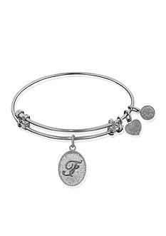 Angelica F Initial Expandable Bangle