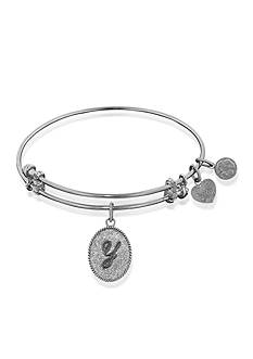 Angelica Y Initial Expandable Bangle