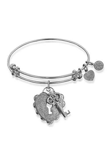Angelica Key to My Heart Expandable Bangle