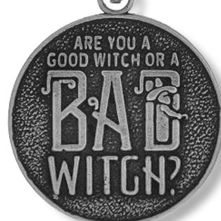 Personalized Jewelry: Entertainment: Silver-Tone Angelica The Wizard of Oz™ Good Witch or Bad Witch Expandable Bangle