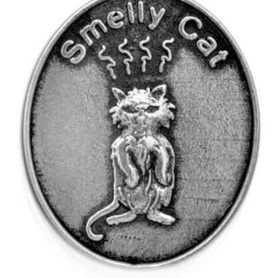 Charm Bracelets: Silver-Tone Angelica Friends Smelly Cat Expandable Bangle