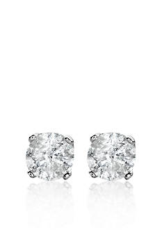 Belk & Co. 1/2 ct. t.w. Diamond Stud Earrings in 14k White Gold
