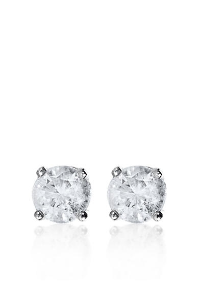 Belk & Co. 1/4 ct. t.w. Diamond Stud Earrings in 14k White Gold