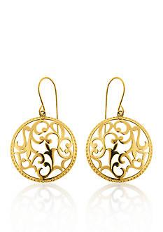 Belk & Co. 10k Yellow Gold Earrings