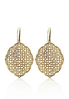 Belk & Co. 14k Yellow Gold Moorish Earrings
