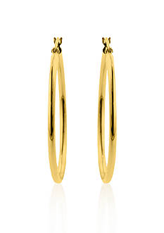 Belk & Co. 14k 35-mm. Hoop Earrings