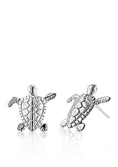 Belk & Co. Sterling Silver Turtle Earrings